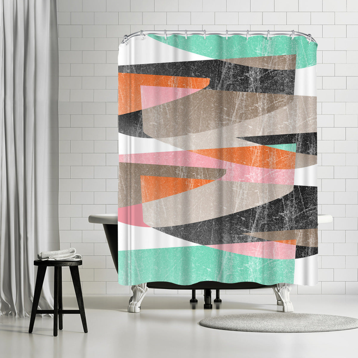 Fragments Xiii by Susana Paz Shower Curtain -  - Americanflat