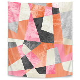 Fragments Xiv by Susana Paz Tapestry