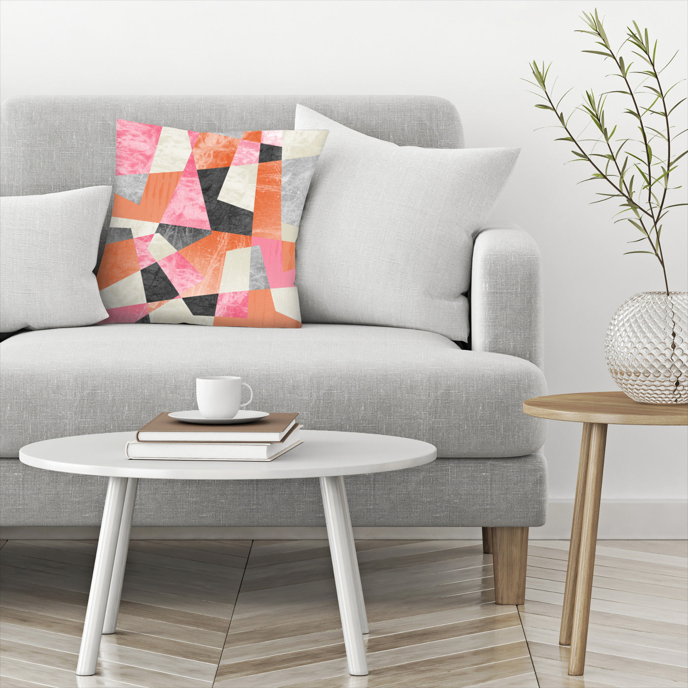 Fragments Xiv by Susana Paz Decorative Pillow - Decorative Pillow - Americanflat