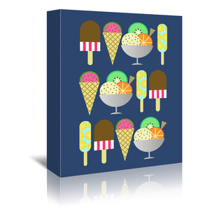 Gelato by Susana Paz Wrapped Canvas