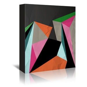 Geometric 21 by Susana Paz Wrapped Canvas