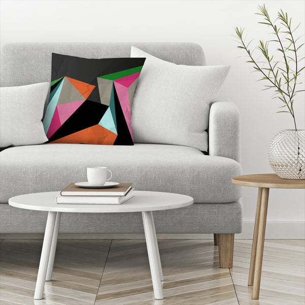 Geometric 21 by Susana Paz Decorative Pillow