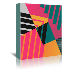 Geometric 23 by Susana Paz Wrapped Canvas