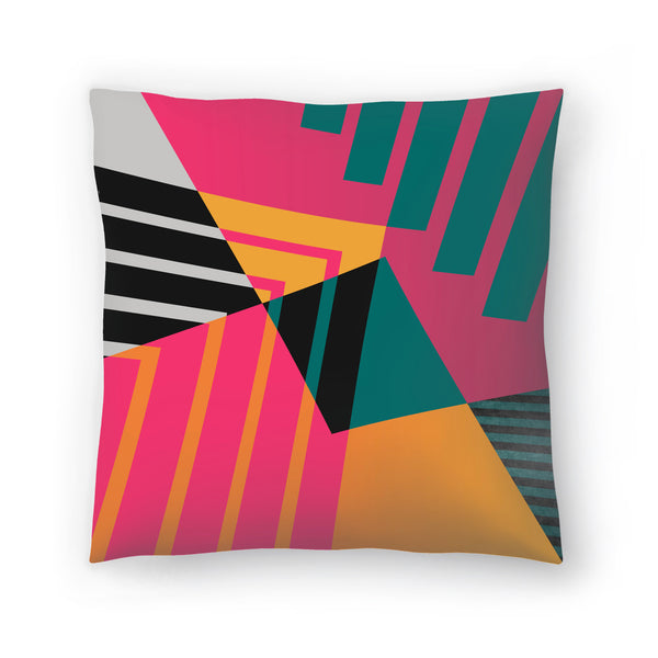 Geometric 23 by Susana Paz Decorative Pillow
