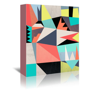 Graphic 3 by Susana Paz Wrapped Canvas