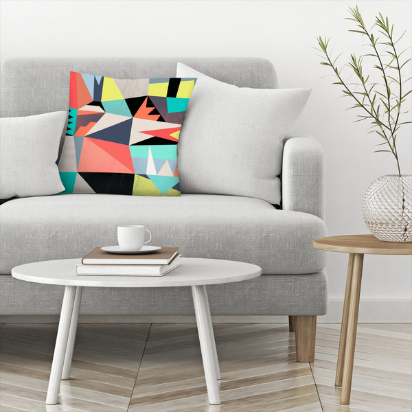Graphic 3 by Susana Paz Decorative Pillow