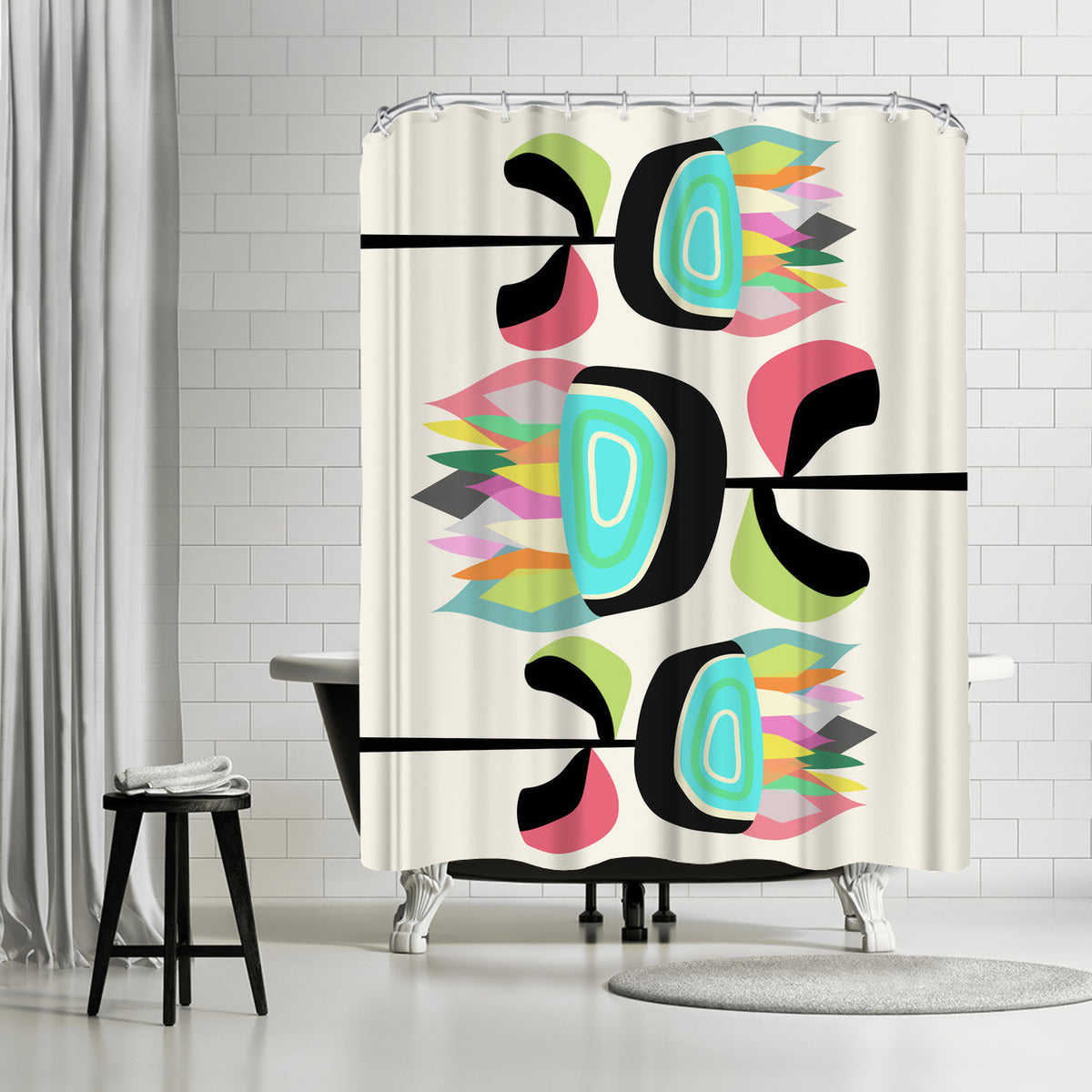 Joyful Plants by Susana Paz Shower Curtain - Shower Curtain - Americanflat