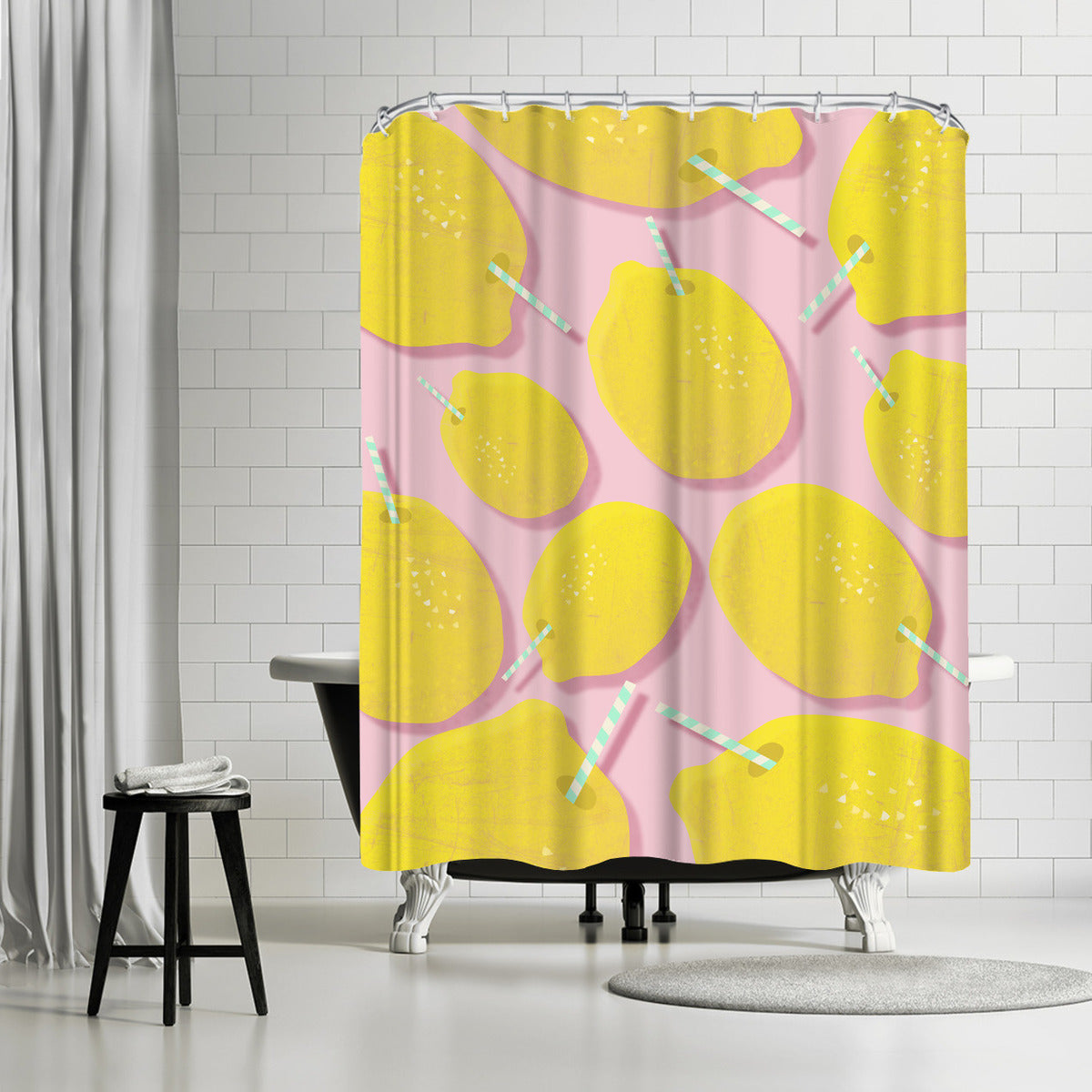 Lemonade by Susana Paz Shower Curtain - Shower Curtain - Americanflat