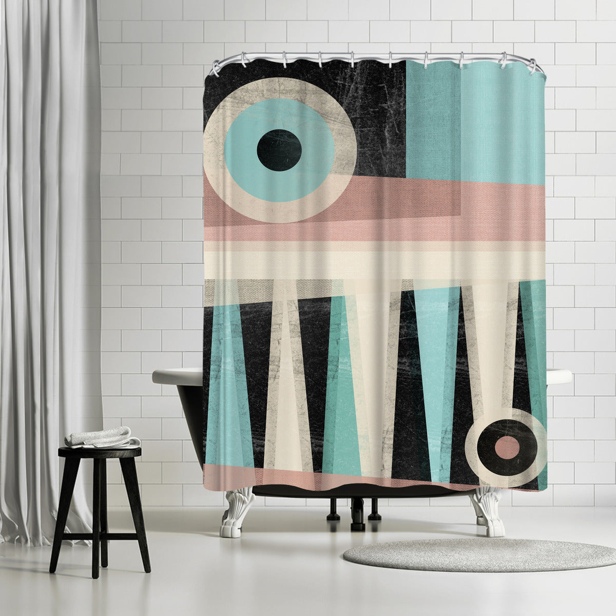Minimalist Ii by Susana Paz Shower Curtain -  - Americanflat