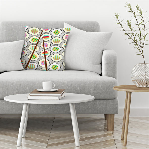 Sushi Time by Susana Paz Decorative Pillow