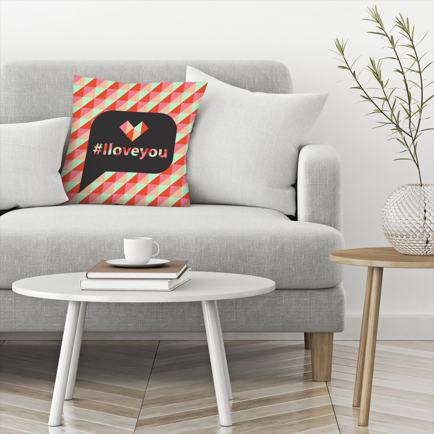 I Love You by Susana Paz Decorative Pillow - Decorative Pillow - Americanflat