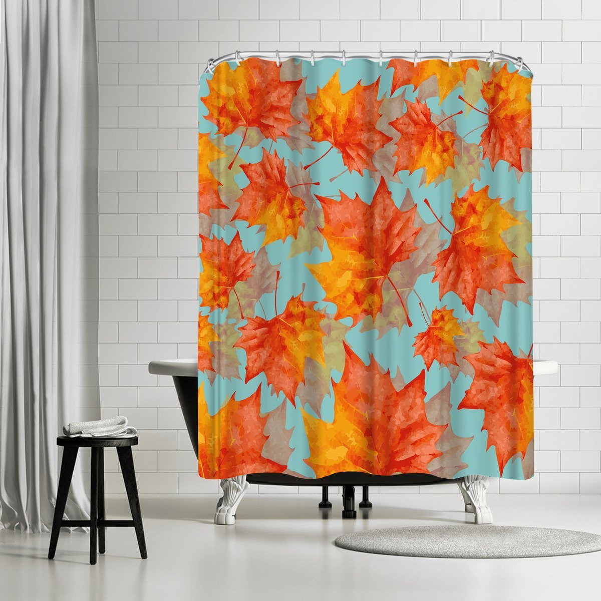 Autumn Leaves by Susana Paz Shower Curtain - Shower Curtain - Americanflat