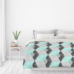 Falling by Susana Paz Duvet Cover