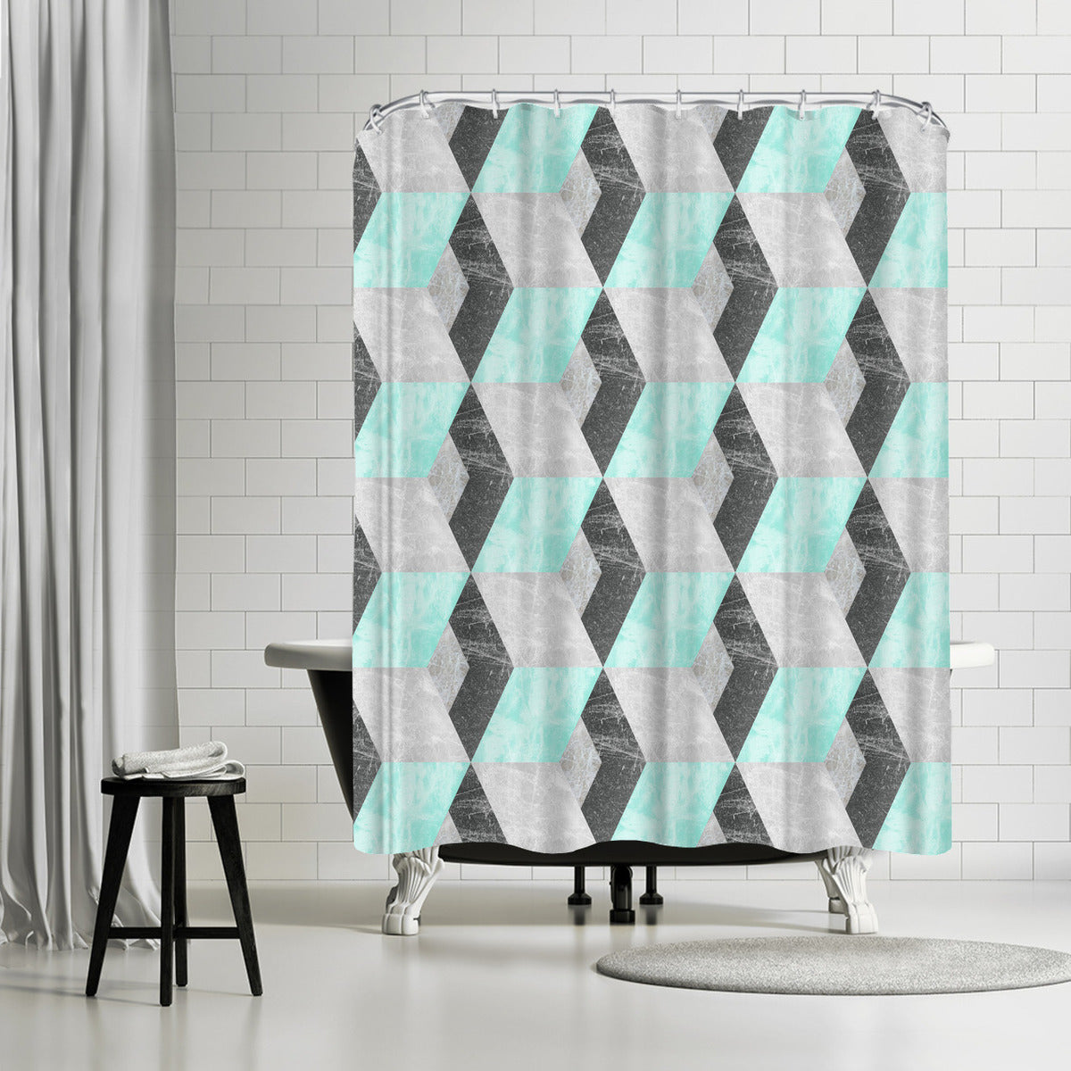 Falling by Susana Paz Shower Curtain -  - Americanflat