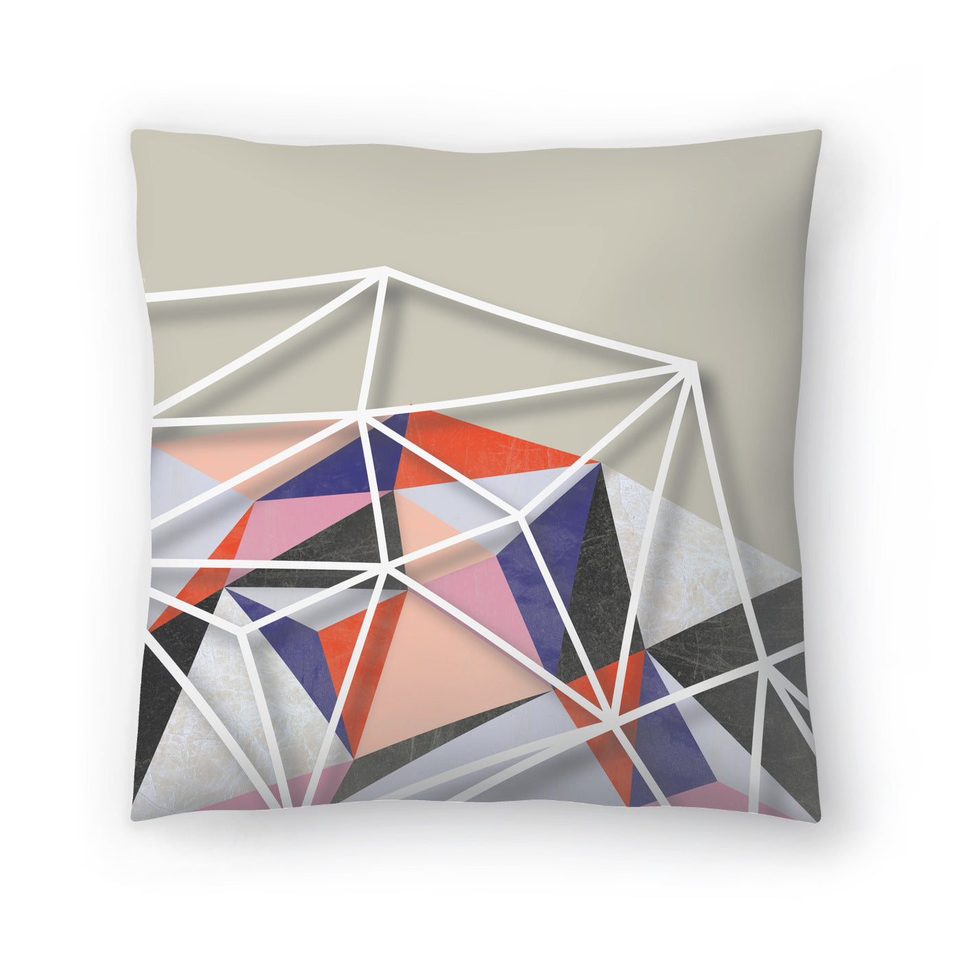 Fill & Stroke Vi by Susana Paz Decorative Pillow - Decorative Pillow - Americanflat