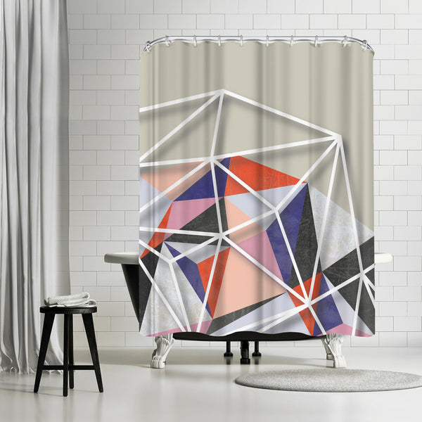 Fill & Stroke Vi by Susana Paz Shower Curtain