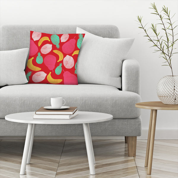 Fruit Salad by Susana Paz Decorative Pillow