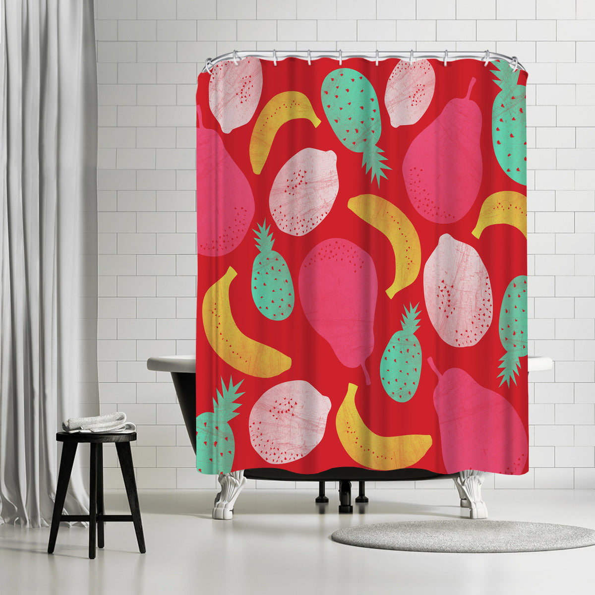 Fruit Salad by Susana Paz Shower Curtain -  - Americanflat