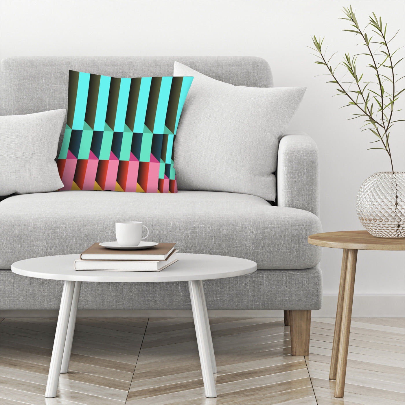 Geometric 26 by Susana Paz Decorative Pillow - Decorative Pillow - Americanflat