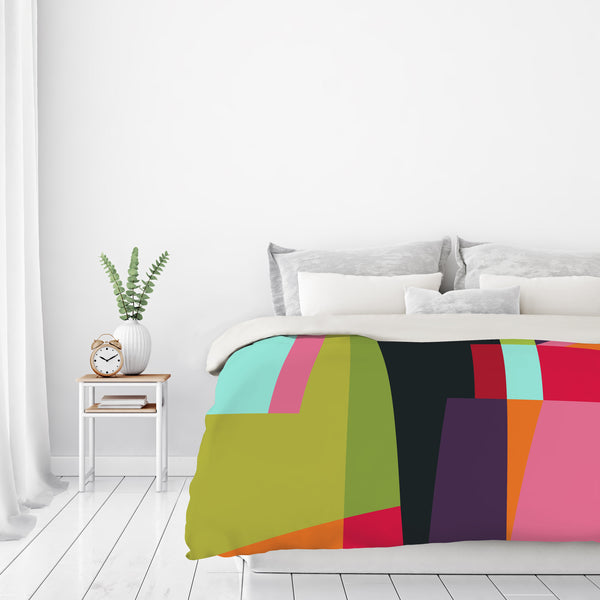 Geometric 28 by Susana Paz Duvet Cover