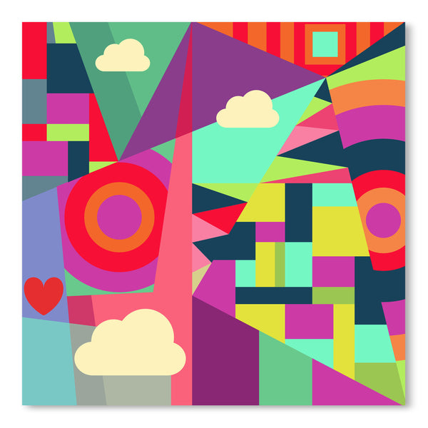 Geometric 7 by Susana Paz Art Print