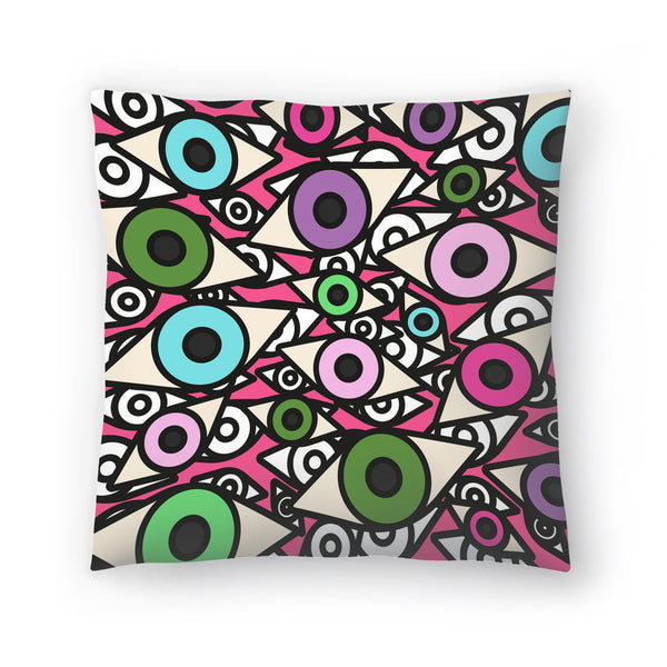 I Am Watching You by Susana Paz Decorative Pillow