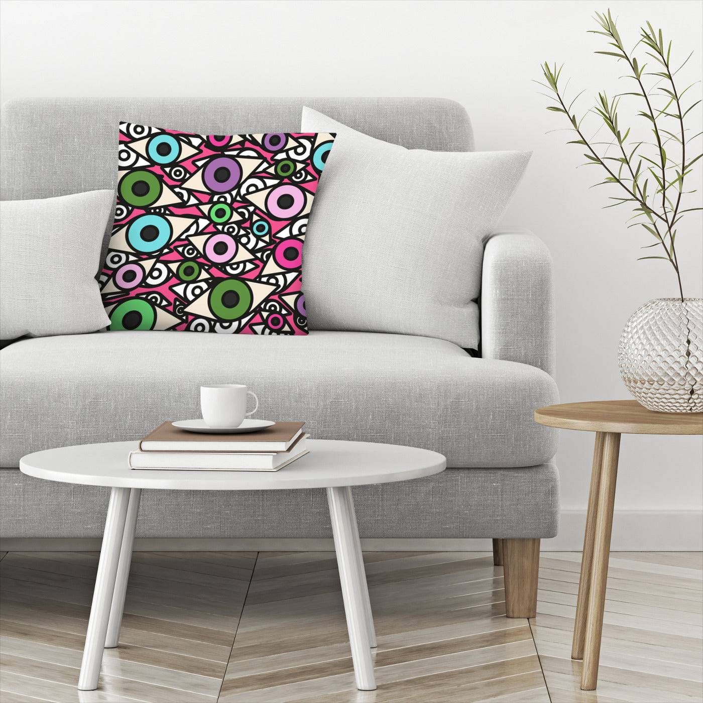 I Am Watching You by Susana Paz Decorative Pillow - Decorative Pillow - Americanflat