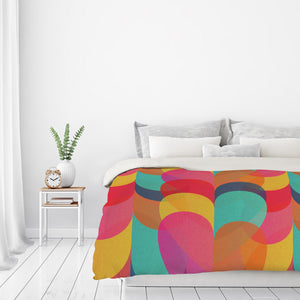 Lovers by Susana Paz Duvet Cover
