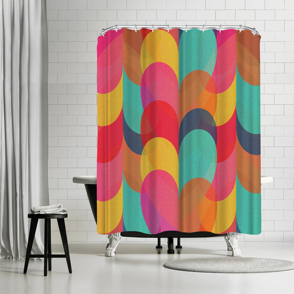 Lovers by Susana Paz Shower Curtain
