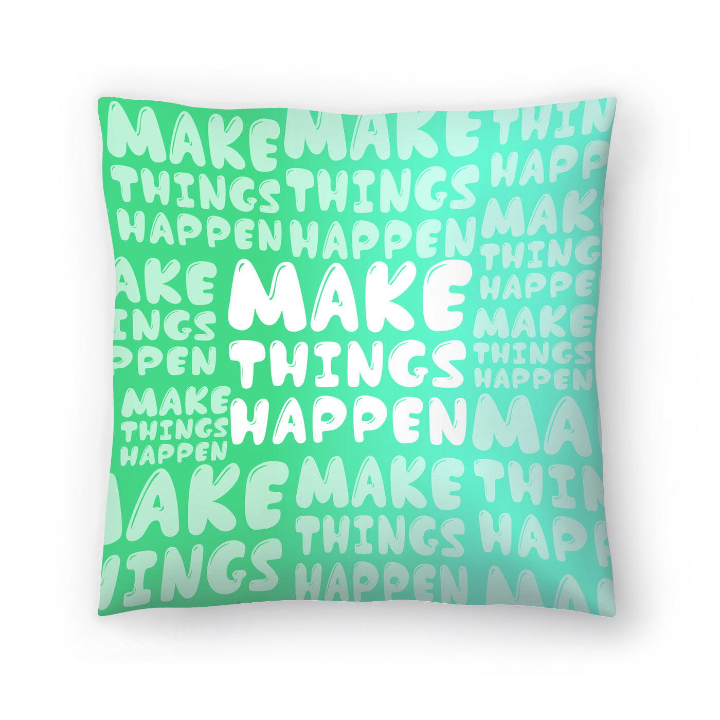 Make Things Happen by Susana Paz Decorative Pillow - Decorative Pillow - Americanflat