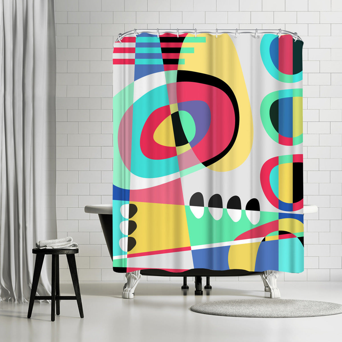 Naive Ii by Susana Paz Shower Curtain -  - Americanflat
