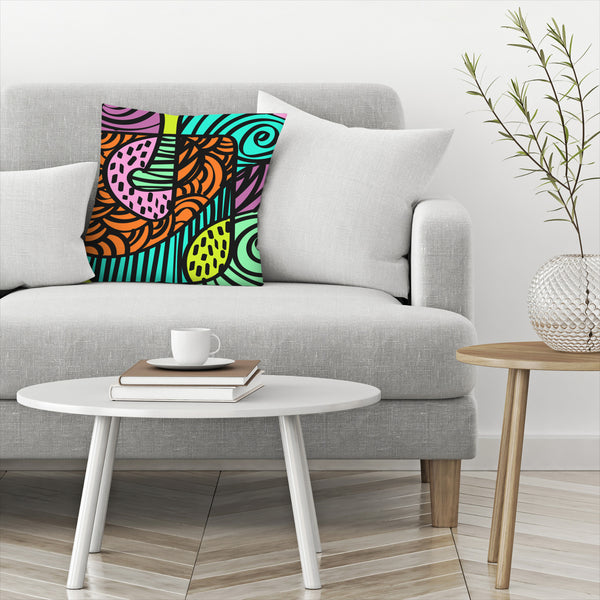 Naive by Susana Paz Decorative Pillow