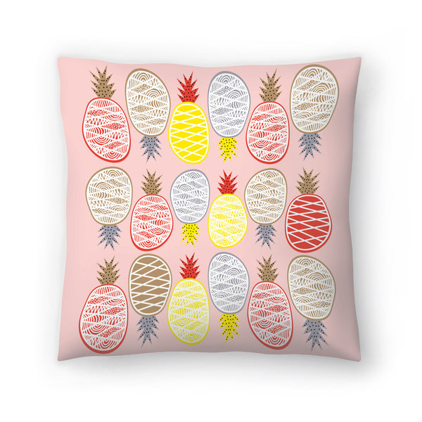 Pineapple I by Susana Paz Decorative Pillow