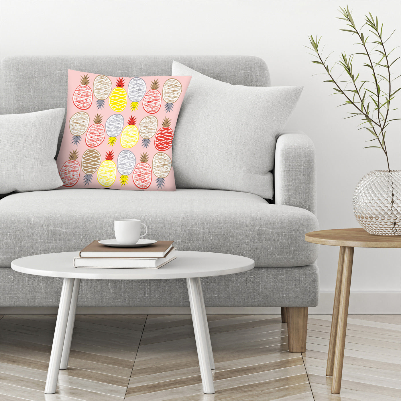 Pineapple I by Susana Paz Decorative Pillow - Decorative Pillow - Americanflat