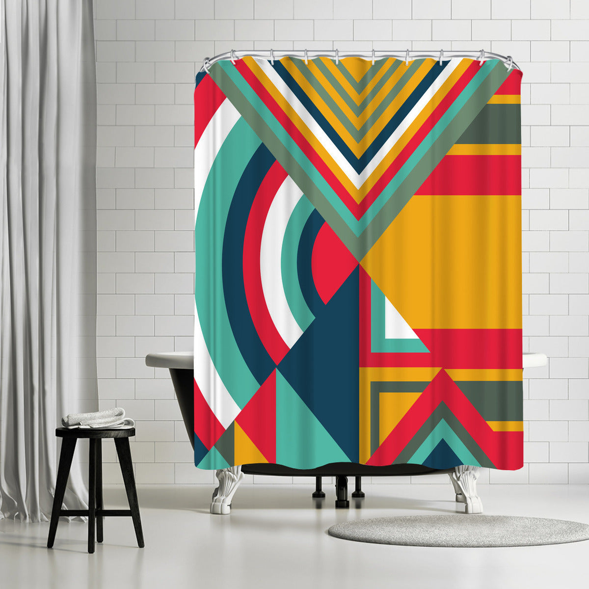 Tribal I by Susana Paz Shower Curtain - Shower Curtain - Americanflat
