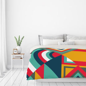 Tribal I by Susana Paz Duvet Cover