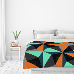 View At Night by Susana Paz Duvet Cover