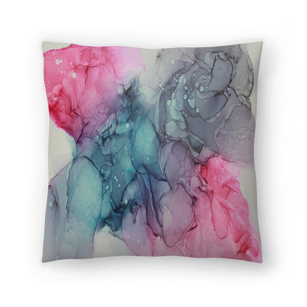 Unfolding by Emma Thomas Decorative Pillow