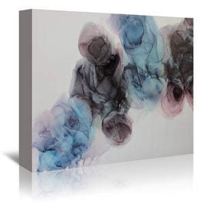 Positively Lovely by Emma Thomas Wrapped Canvas