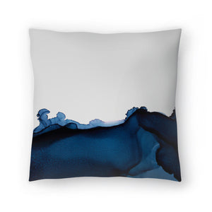 Nothing But Navy by Emma Thomas Decorative Pillow