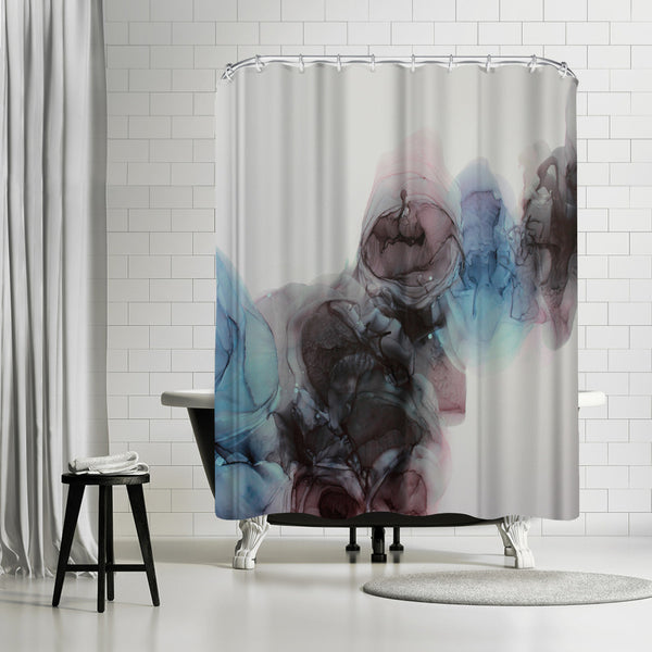 Visible Darkness Ii by Emma Thomas Shower Curtain