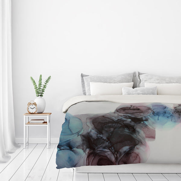 Visible Darkness Ii by Emma Thomas Duvet Cover