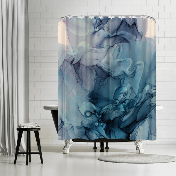 Lasting Impressions by Emma Thomas Shower Curtain