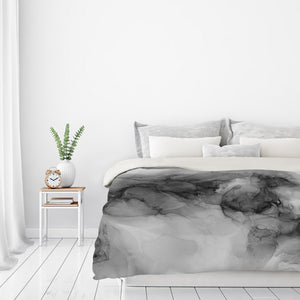 Devine Realm Ii by Emma Thomas Duvet Cover