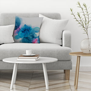 Waiting In The Wings Ii by Emma Thomas Decorative Pillow