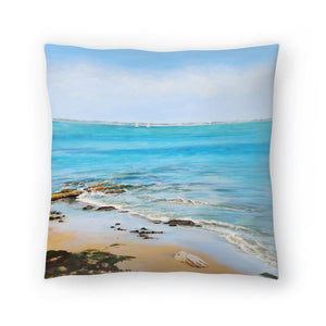 Distant Sails by Sandra Francis Decorative Pillow