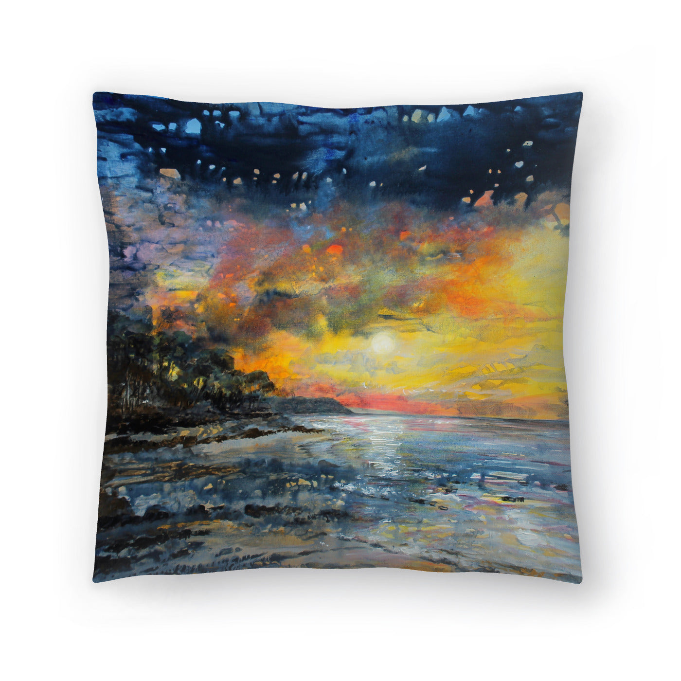 Magic Night by Sandra Francis Decorative Pillow - Decorative Pillow - Americanflat