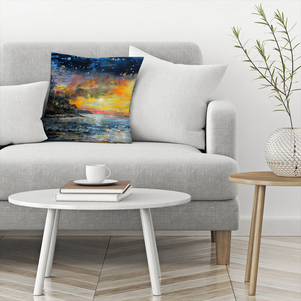 Magic Night by Sandra Francis Decorative Pillow