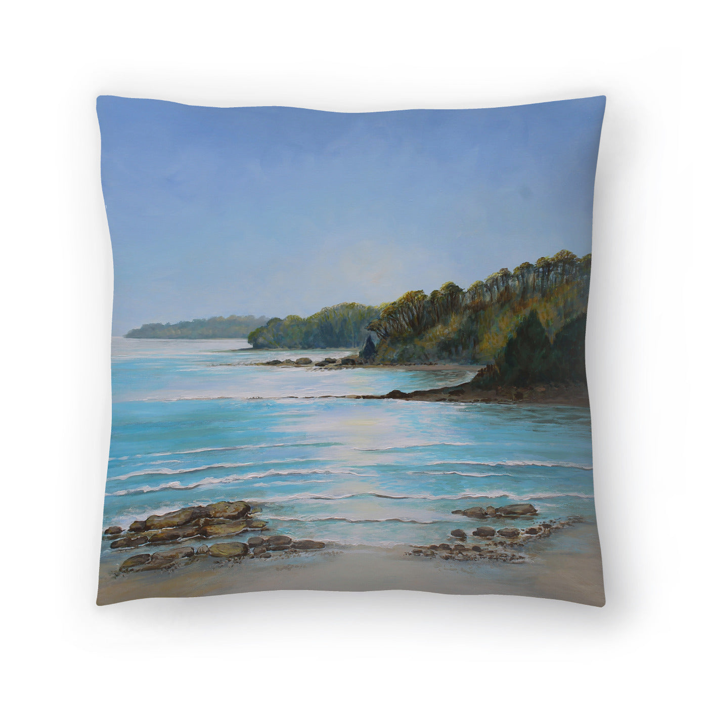Sea Grove Morning by Sandra Francis Decorative Pillow - Decorative Pillow - Americanflat