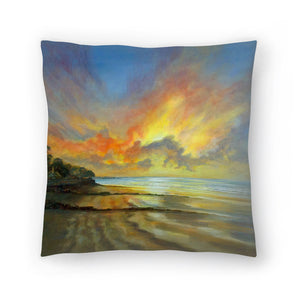 Sunset by Sandra Francis Decorative Pillow